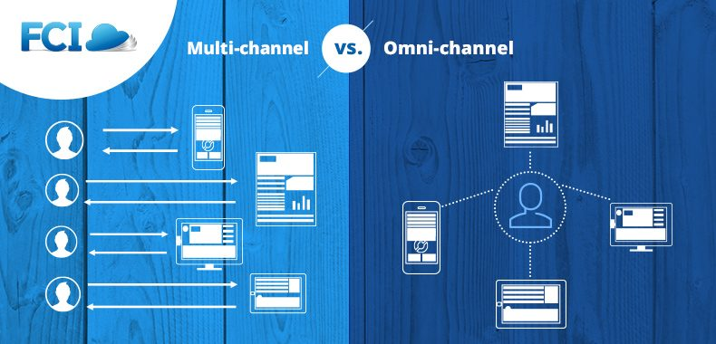 multi-channel vs. omni-channel