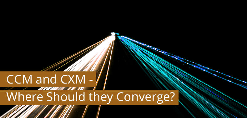 The Converging Point between CCM and CXM